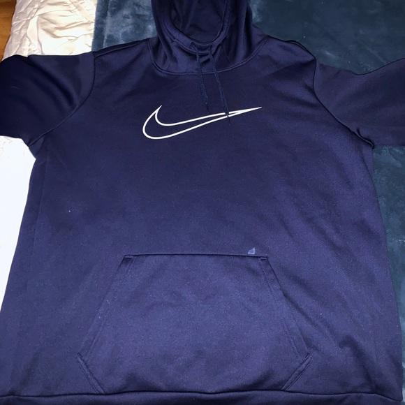kostar charm billig snabb leverans Nike Tops | Navy Blue Hoodie | Poshmark
